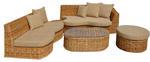 Мебели от ратан за външно и вътрешно ползване в екзотично заведението Пловдив