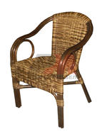 Мебели за дървеното заведение от ратан в различни цветове и плетки Пловдив