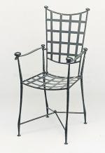 Универсален стол от ковано желязо за вътрешно и външно използване Пловдив магазини