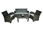 Мебели от ратан за всяка обстановка на вегетарианско заведение Пловдив
