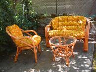 производител Мека мебел от ратан