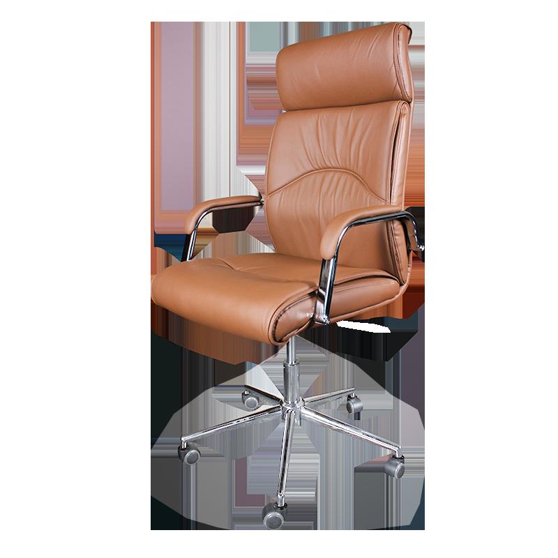 Офис столове - Президентски стол Carmen 6050 - кафе