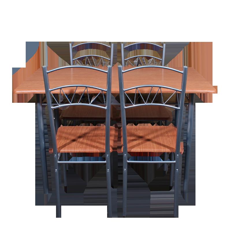 Мебели за дома - Комплект маса с 4 стола 20003