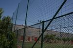 метални мрежи за ограждане на спортни игрища