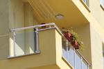 изработка на парапети за тераси от стъкло и неръждаема стомана по поръчка