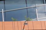 парапет от стъкло за тераса
