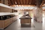 уютни кухни фурнир в тъмни цветове по задание