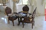 луксозни маси със столове от масивна дървесина