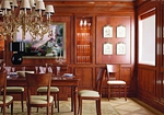луксозна италиански маса от масив