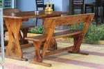 Дървени маси с пейки за механи и кръчми по поръчка
