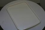 табли за сервиране  с покритие  против хлъзгане за посуда за ресторант на самообслужване доставка