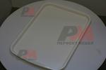 Специализирани табли за сервиране  с покритие  против хлъзгане за посуда за сервиране на едро