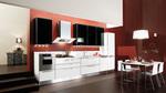 доброкачествени бели кухни модерен стил