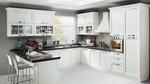 нестандартни бели кухни  масив сигурни