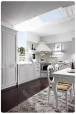 уникални бели кухни  масив ненарушими