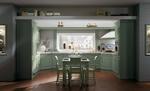 луксозни ъглови кухни дъб масив дълготрайни