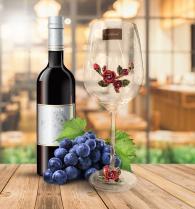 Две чаши за вино - кристално стъкло