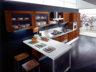 Кухня просторна Алиса