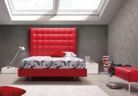 Спалня червена Ерика
