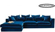 Луксозен ъглов диван с гъши пух 539