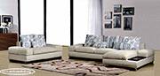 Ъглов диван с канапе по поръчка 559