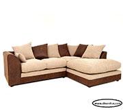 Двуцветен диван с гъши пух по поръчка 572