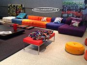 Цветен модулен диван по поръчка 579