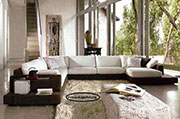Голям ъглов диван по поръчка 1112