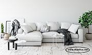 Удобен ъглов диван с гъши пух по поръчка 600