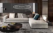 Ъглов диван с мемори пяна по поръчка 604