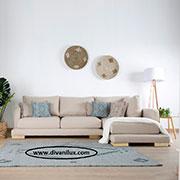 Ъглов диван с мемори пяна по поръчка 616