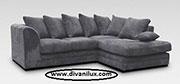Ъглов диван с висококачествен дунапрен 617