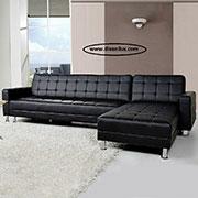 Ъглов кожен диван по поръчка 619