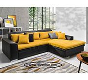 Ъглов диван с мемори пяна в два цвята 620