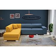 Цветен ъглов диван по поръчка 621