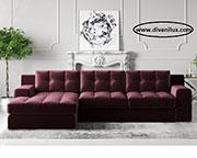 Луксозен ъглов диван по поръчка 627