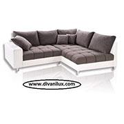 Луксозен ъглов диван с качествени материали 1109