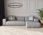 Сив ъглов диван по поръчка 628