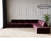 Голям ъглов диван по поръчка 629