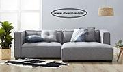 Ъглов модулен диван с висококачествена дамаска 634