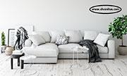 Ъглов диван с мемори пяна по поръчка 636