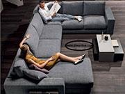 Пе-образен диван с мемори пяна по поръчка 645