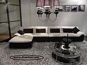 Ъглов диван с мемори пяна по поръчка 1106