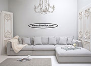Ъглов диван с гъши пух по поръчка 667