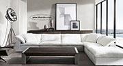 Бял диван с гъши пух 668