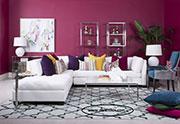 Луксозен ъглов диван с мемори пяна 672