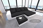 Луксозен ъглов диван в два цвята 675