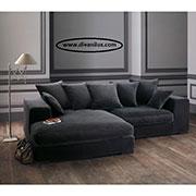 Ъглов диван с мемори пяна по поръчка 681