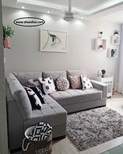 Ъглов диван с мемори пяна по поръчка 715