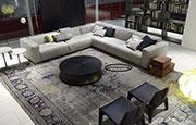 Голям ъглов диван с качествена дамаска 1100
